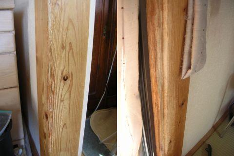 ペット(猫)による柱の傷修繕|リフォームのことなら家仲間コム ペット(猫)による柱の傷修繕|リフ
