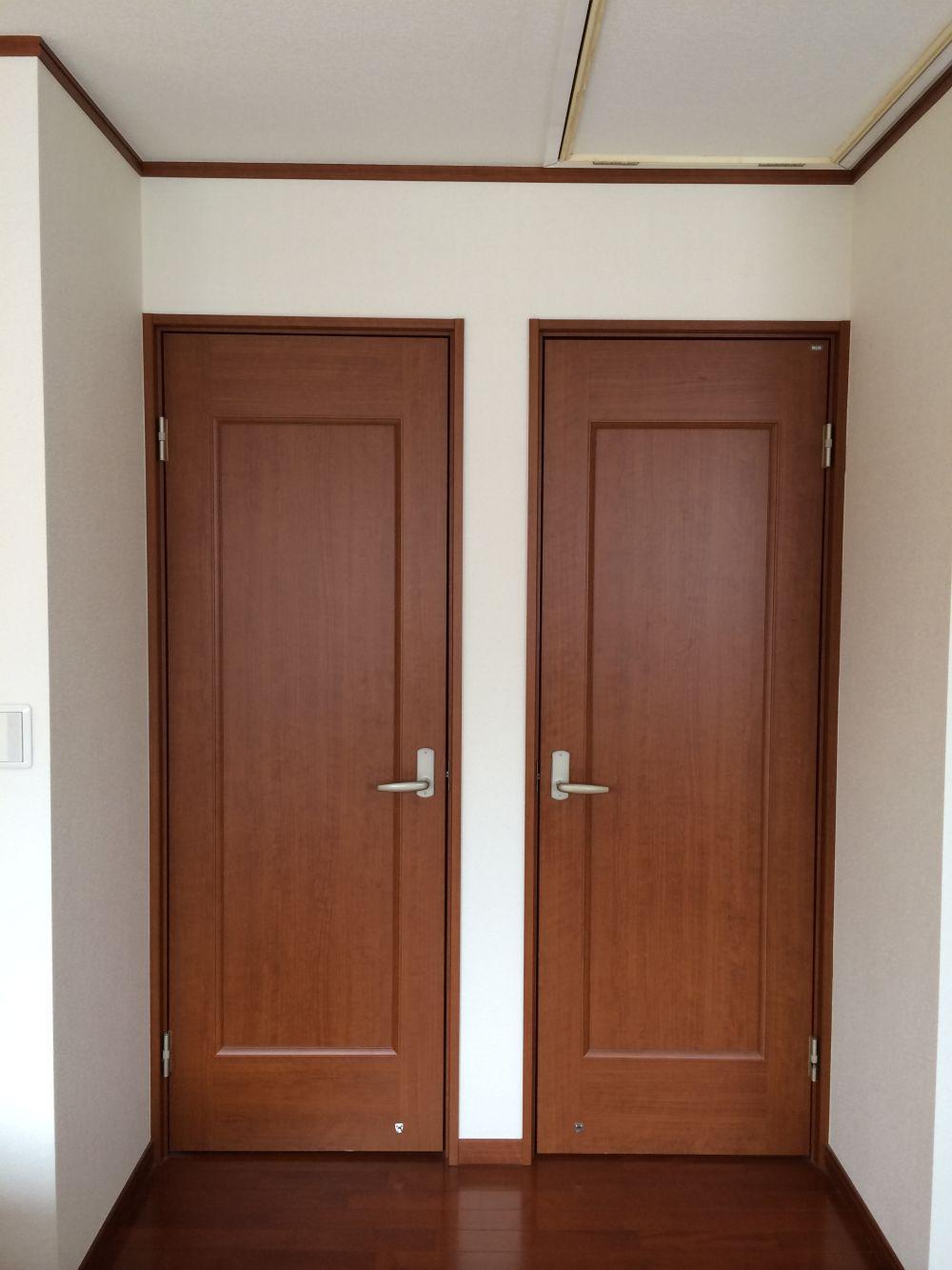 部屋の仕切り壁増設とクローゼット新設