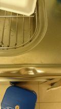 「キッチンのシンクへこみ2箇所の修理をお願いします」についての画像