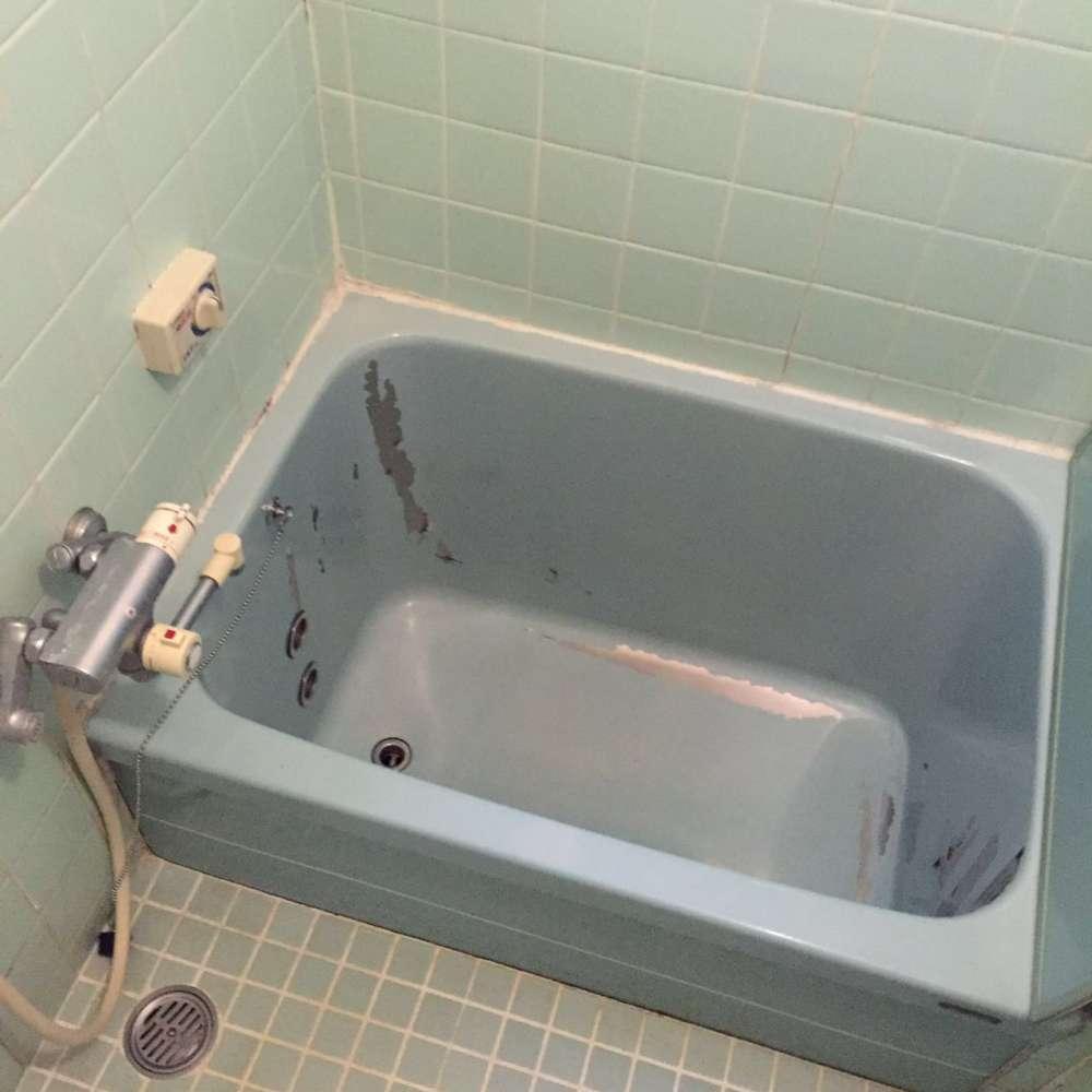 浴槽 塗装