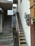 「錆びた外階段(鉄骨)の修理 外壁・屋根の塗装」についての画像