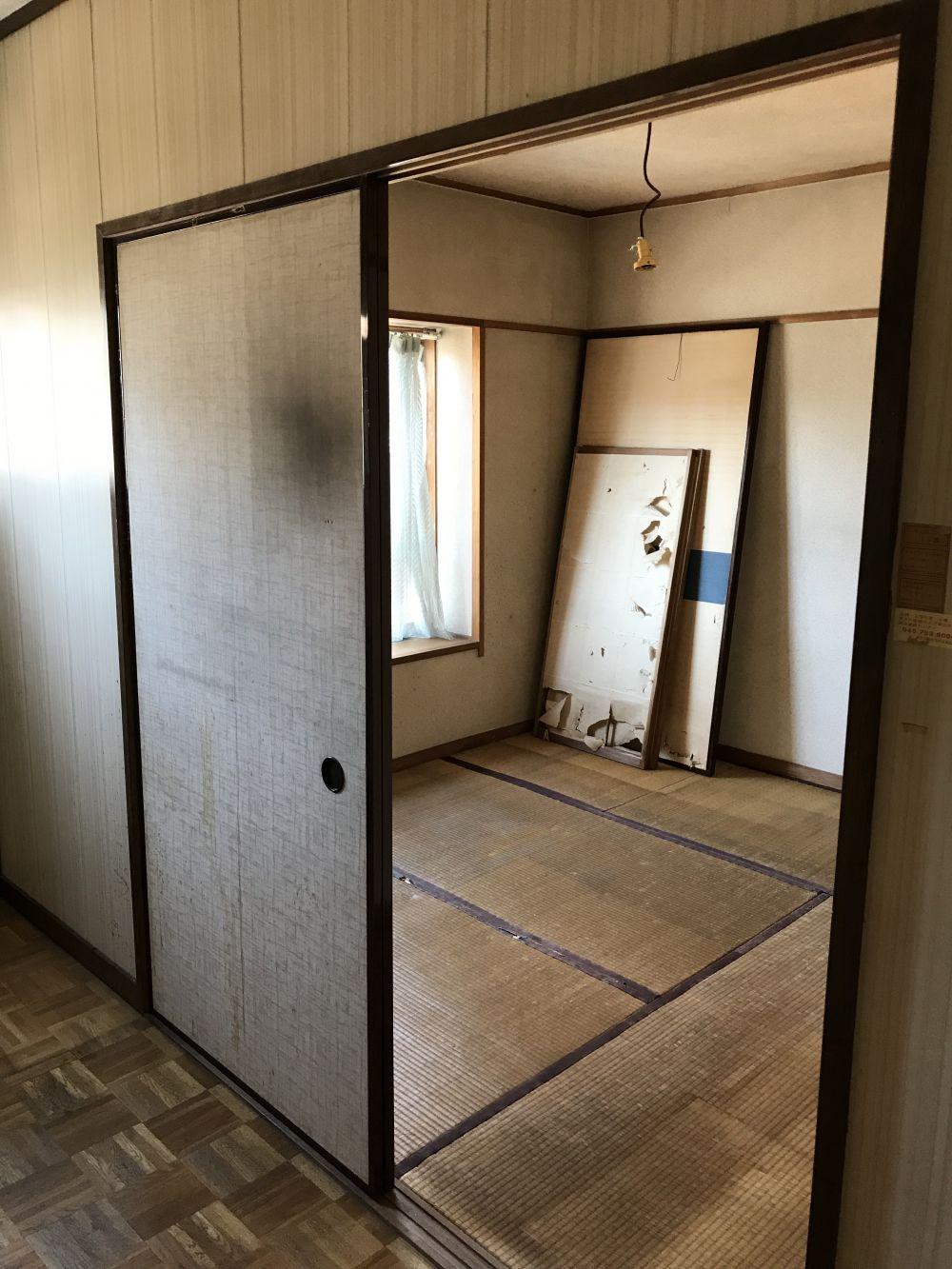 四畳半の和室の壁紙張り替え リフォームのことなら家仲間コム