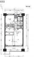 「60平米の室内のクロスを全て張替え」についての画像