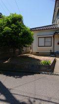 「前庭をつぶして(木の撤去)駐車場にしたい(カーポート)」についての画像