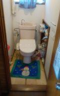 「トイレとトイレ床を換えたい」についての画像