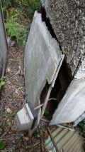 「外壁の割れ(100㎝×50㎝)を修繕したい」についての画像