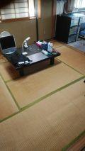 「和室(8帖)畳からフローリング張替工事(フローリング指定)」についての画像