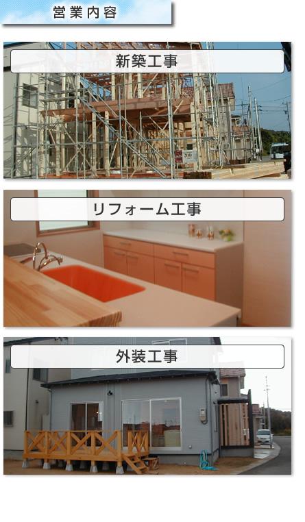 :notitle:北野住建の営業内容