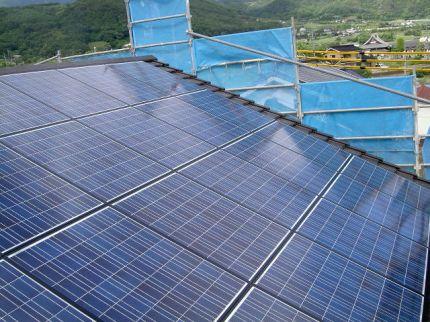 長野県東御市 太陽光発電システム工事
