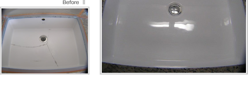 :notitle:洗面ボール塗装の事例写真