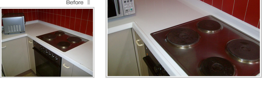 :notitle:キッチン天板塗装