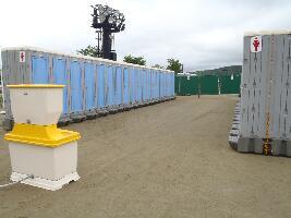 イベント仮設トイレ実施例(1)