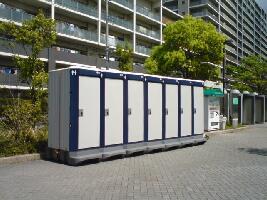 イベント仮設トイレ実施例(3)