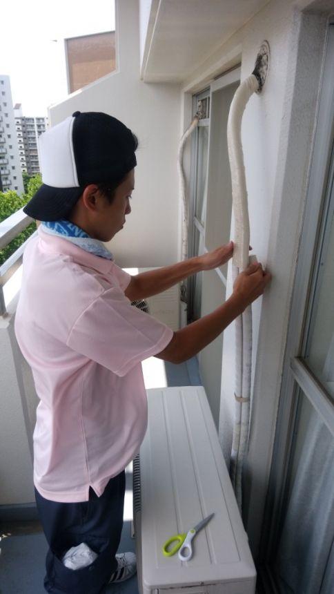 神奈川ハウスクリーニングセンターのエアコン分解クリーニングで、メンテナンスも実施