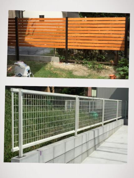外構ブロック工事・フェンス工事もいたします!