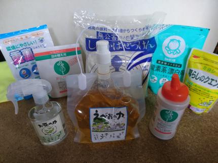 :notitle:エコ洗剤一例