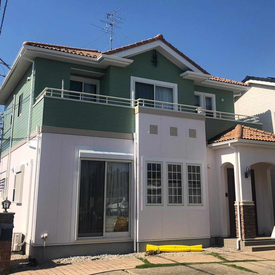 外壁・屋根塗装専門店「りぺいんと」外壁塗装名古屋市守山区