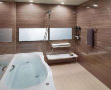 「キレイ」&「エコ」アイテムが標準装備のオールインワンバスルーム。