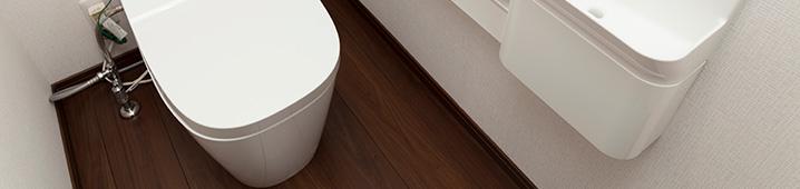トイレ床張替え・交換