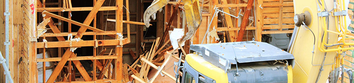 空き家解体工事