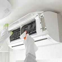 暖房のご使用前にぜひ!!内部高圧洗浄でカビやホコリを除去します。2台目以降割引あります!