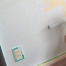 在宅リフォーム 珪藻土 漆喰塗り