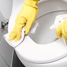 特殊洗剤 特殊機材により頑固な汚れを落とします
