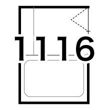 1116(0.75坪)