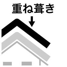 重ね葺き(カバー工法)