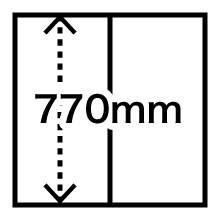 770mm