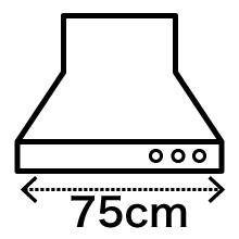 換気扇からレンジフードへ交換 幅75cmタイプ 全込みプラン_5